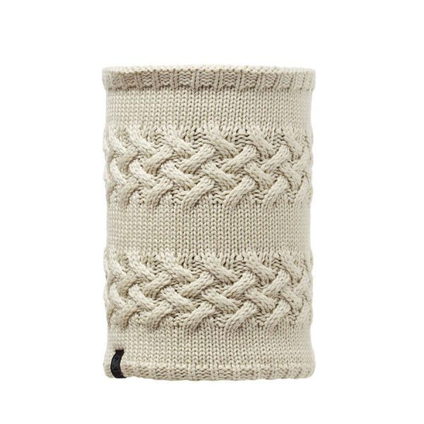BUFF-Lifestyle-SAVVA-針織POLAR保暖領巾(白)