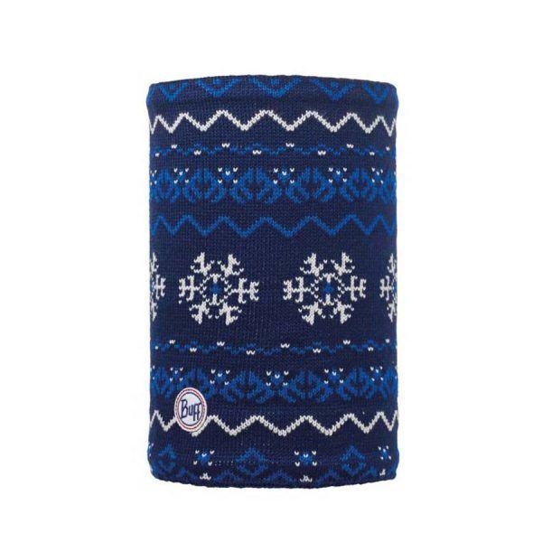 BUFF-Lifestyle-VAIL-針織POLAR保暖領巾(藍)