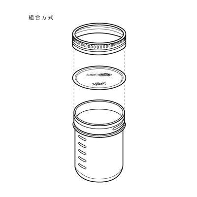 ball梅森罐-組合方式