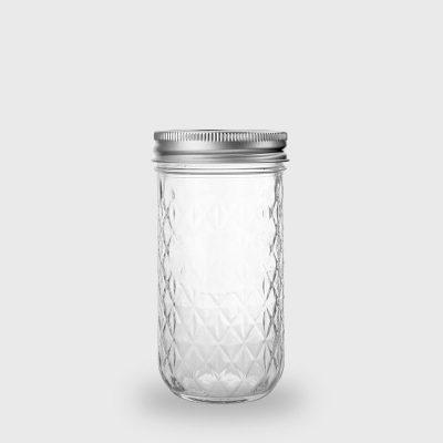ball梅森罐12oz菱格窄口罐-1
