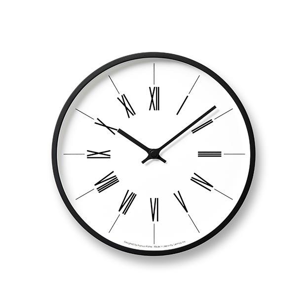日本 Lemnos 鐘塔時鐘-羅馬數字款2