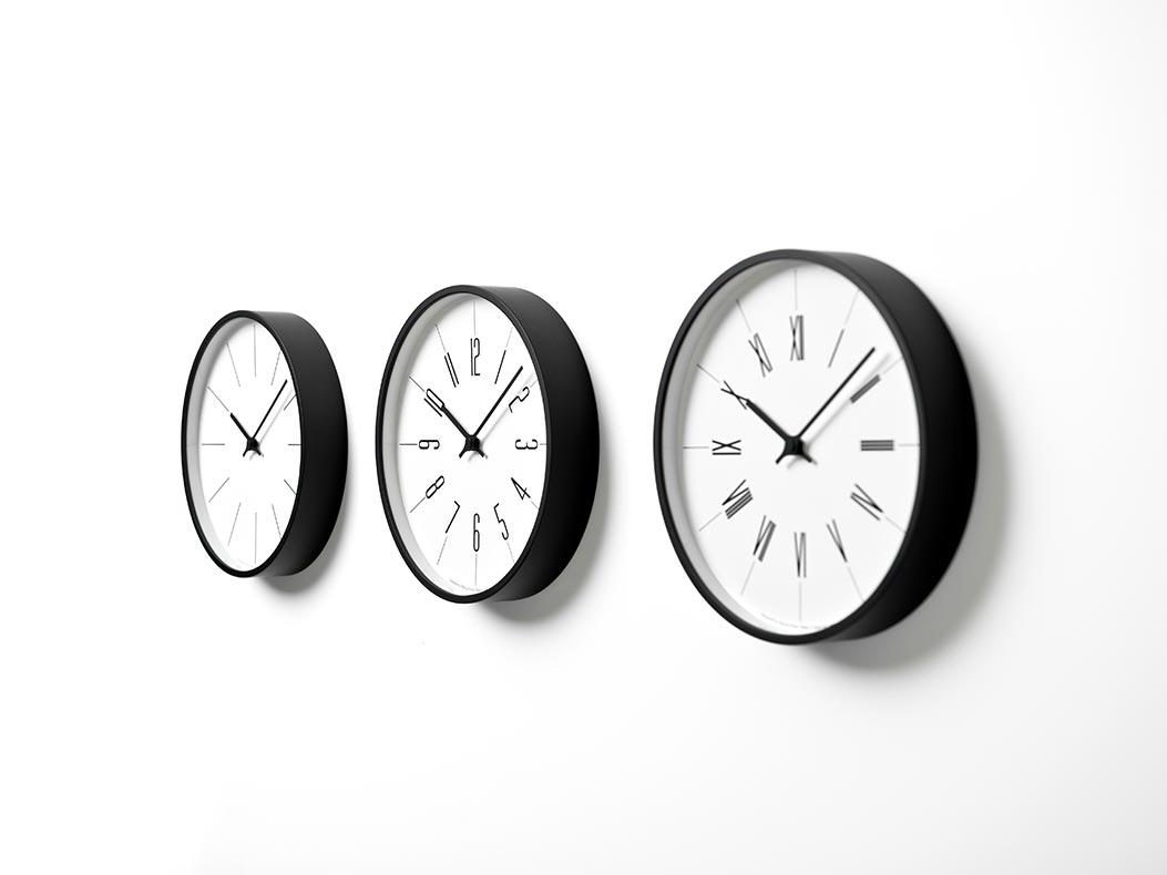 日本 Lemnos 鐘塔時鐘-羅馬數字款1
