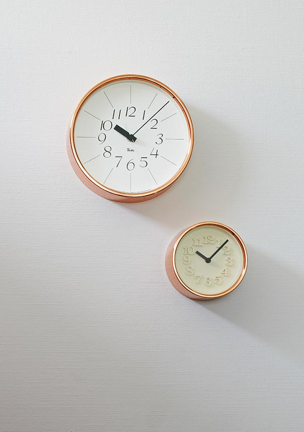 日本 Lemnos 渡邊力純銅小時鐘2