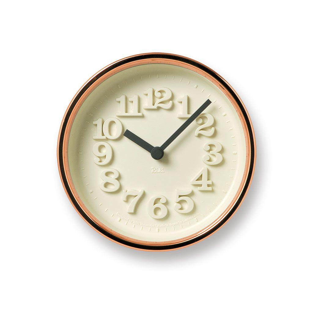 日本 Lemnos 渡邊力純銅小時鐘