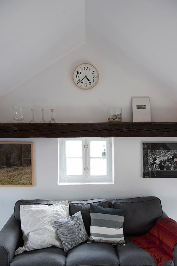 日本 Lemnos 渡邊力木框簡約大字時鐘2