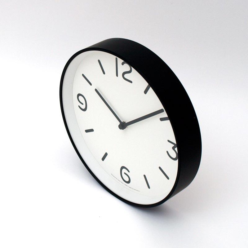 日本 Lemnos 黑白純粹時鐘1