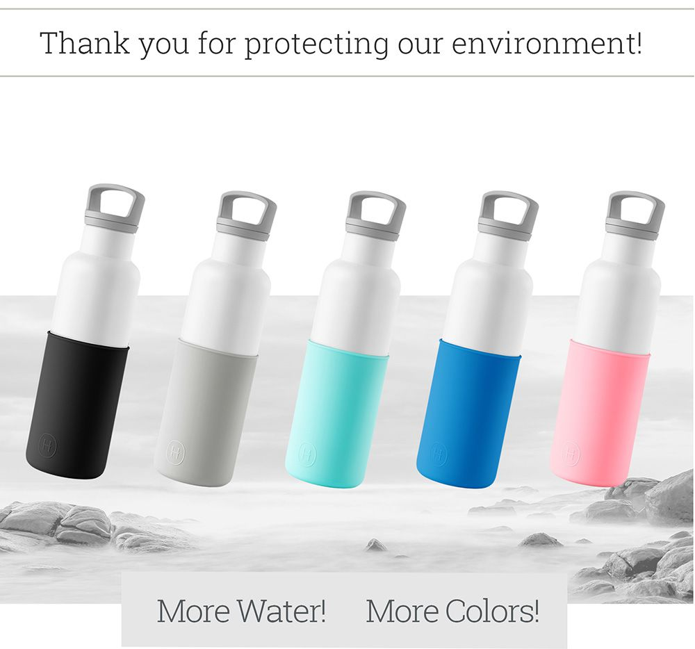 美國 HYDY 時尚不銹鋼保溫水瓶