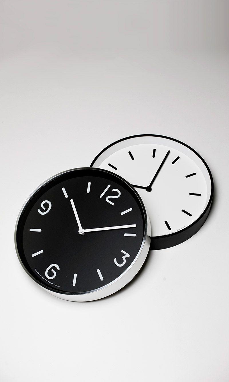 日本 Lemnos 黑白純粹時鐘2