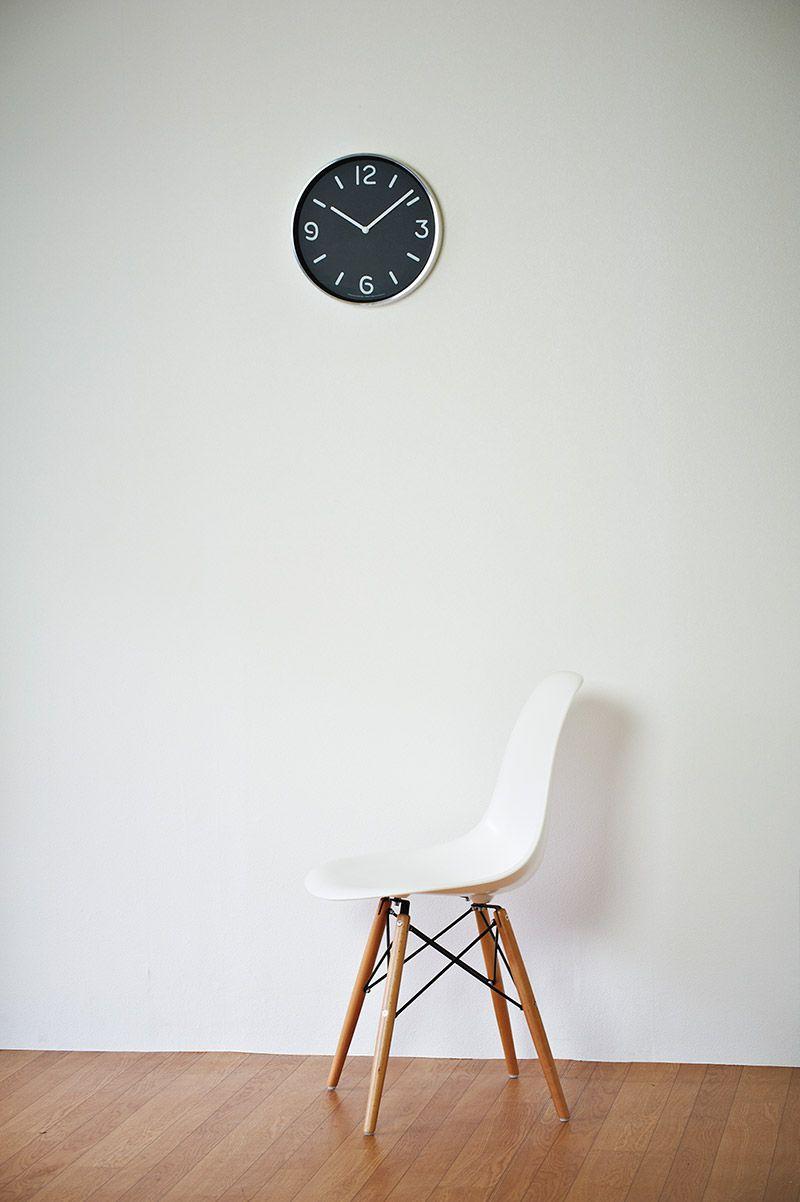 日本 Lemnos 黑白純粹時鐘3