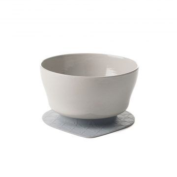 BONNSU_天然寶貝碗_竹纖維兒童學習餐具_麥片碗組(芝麻冰淇淋)