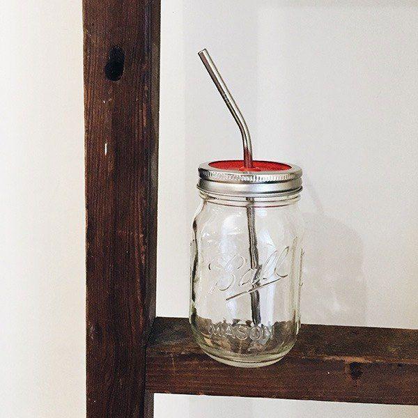 BALL MASON JAR 梅森罐 16oz 窄口環保飲料組