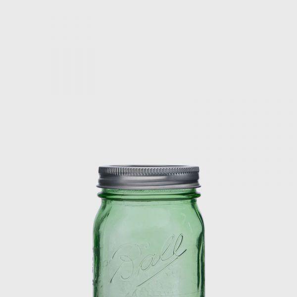BALL MASON JAR 梅森罐 寬口密封環蓋組 (3入)