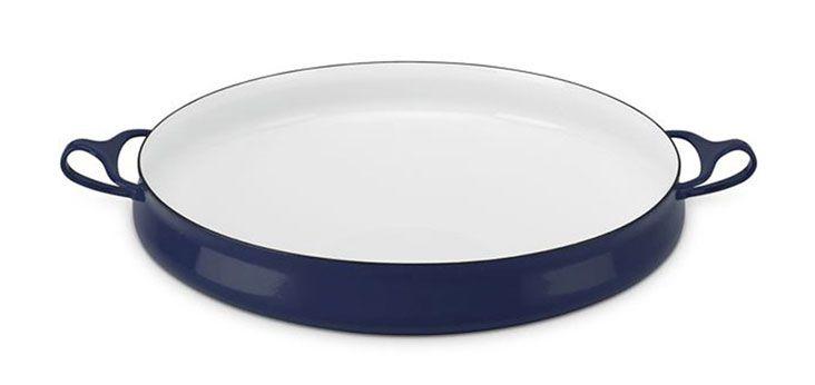 DANSK 珂本琺瑯橢圓焗烤盤 (星空藍)