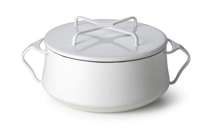 DANSK 珂本琺瑯雙耳湯鍋 4L (奶油白)