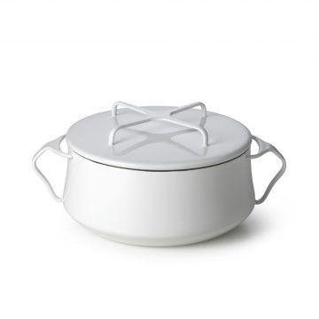 DANSK_珂本琺瑯雙耳湯鍋(奶油白)4L