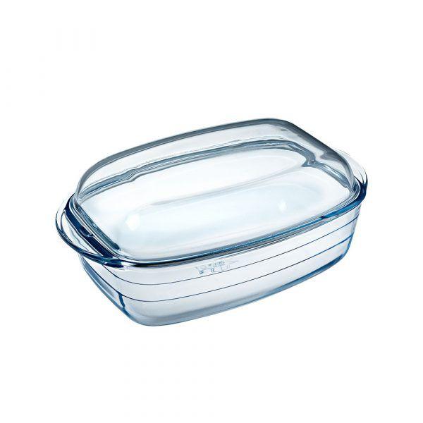 O-Cuisine_耐熱玻璃方形調理鍋(33x19cm)