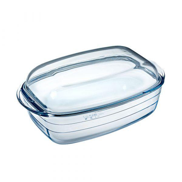 O-Cuisine_耐熱玻璃方形調理鍋(37x22cm)