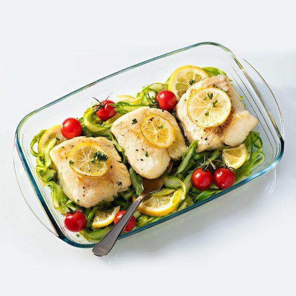 法國 O Cuisine 耐熱玻璃長方型烤盤