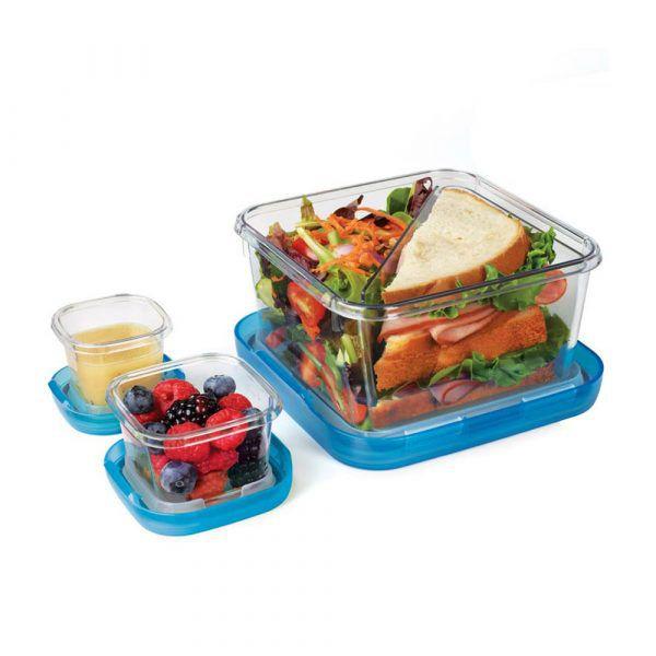 OXO_LockTop午餐盒三件組(藍)