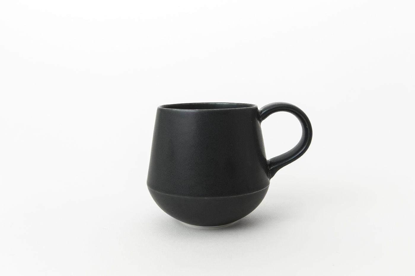 日本 KIHARA 藍素磁釉 咖啡杯