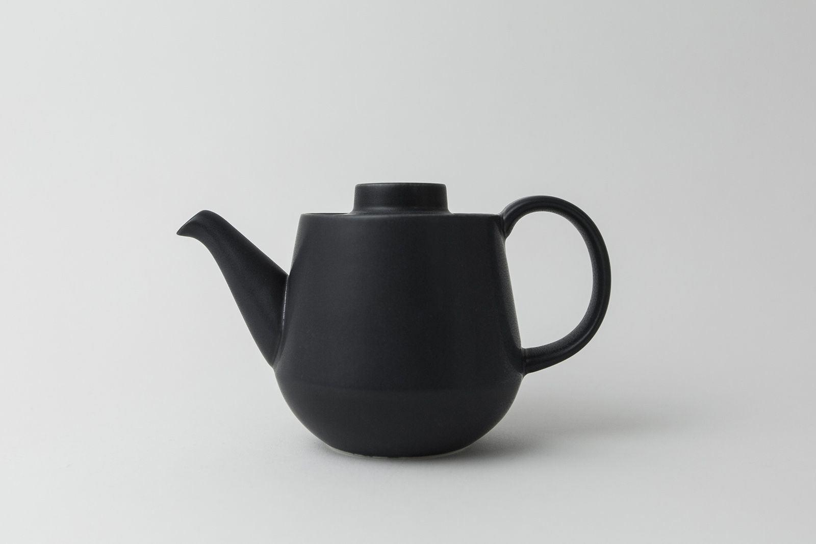 日本 KIHARA 藍素磁釉 茶壺