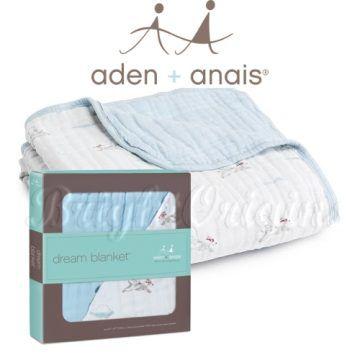 Aden+Anais 純棉四層厚毯 勇敢飛天狗6030