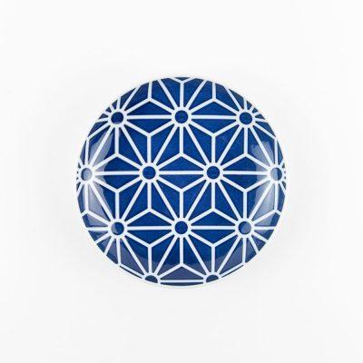 日本 KIHARA 有田燒 瓷器 KOMON系列 取皿麻葉