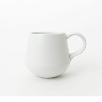 KIHARA_咖啡杯(白素磁釉)