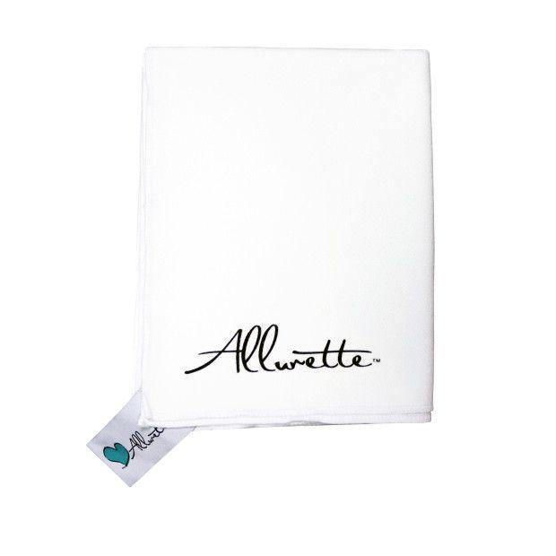 澳洲 Scrubba 攜帶式快乾輕毛巾 Allurette 聯名款 (白)