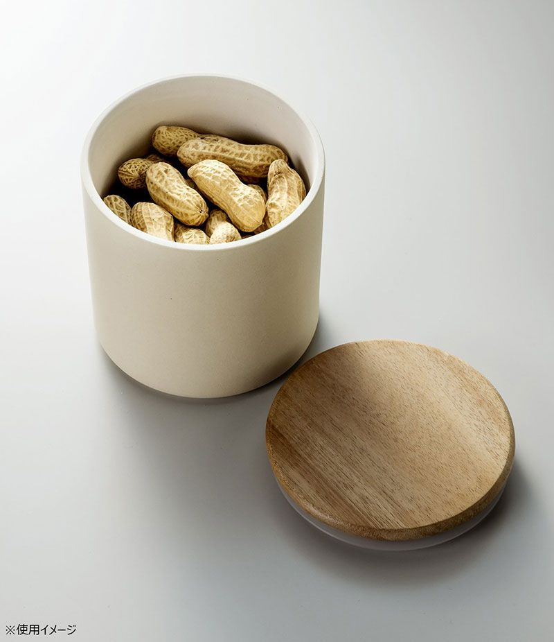 日本 KARARI 珪藻土乾燥保存 食物保存罐