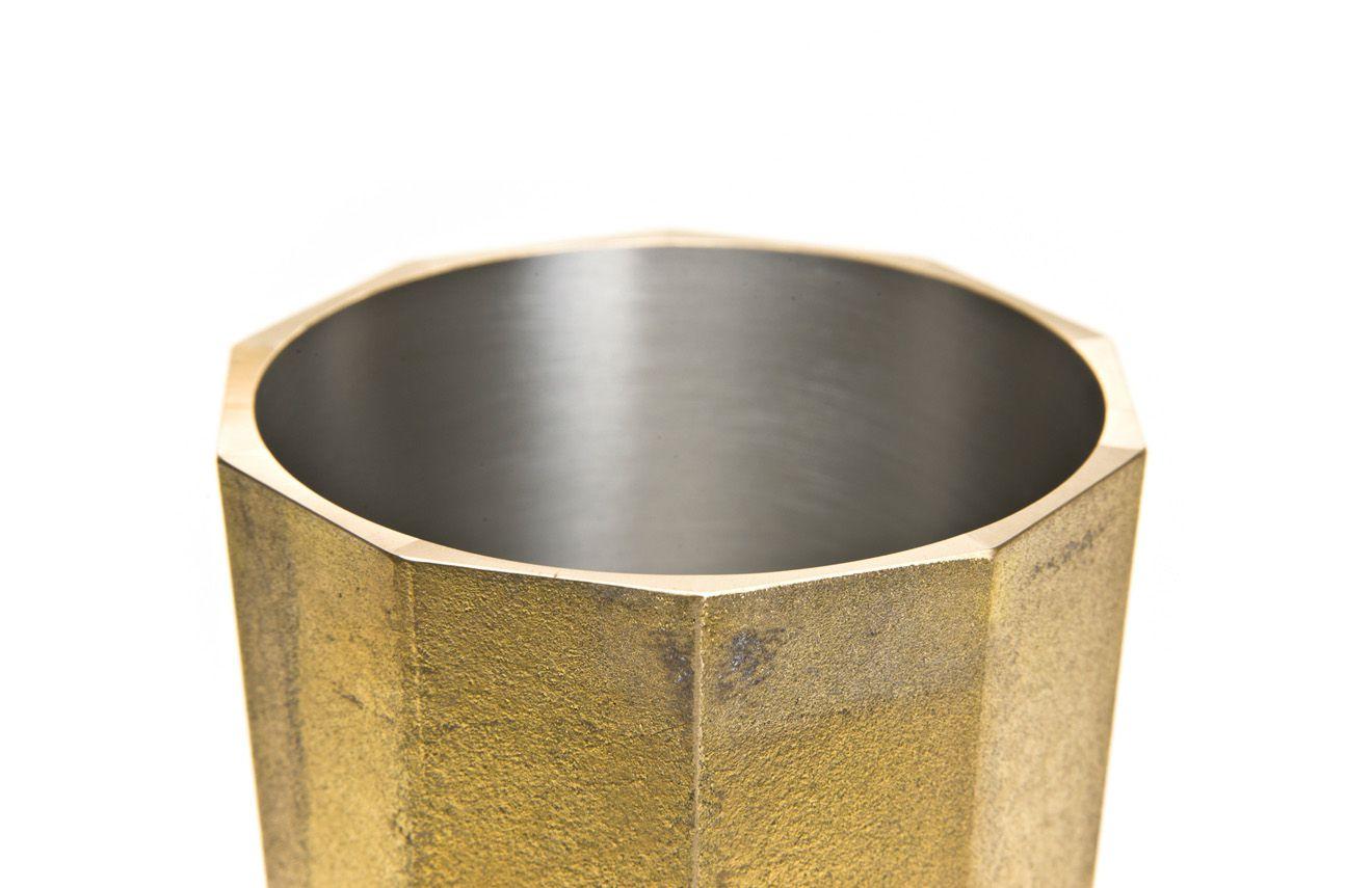 日本 FUTAGAMI 二上 銅鑄置物桶 L
