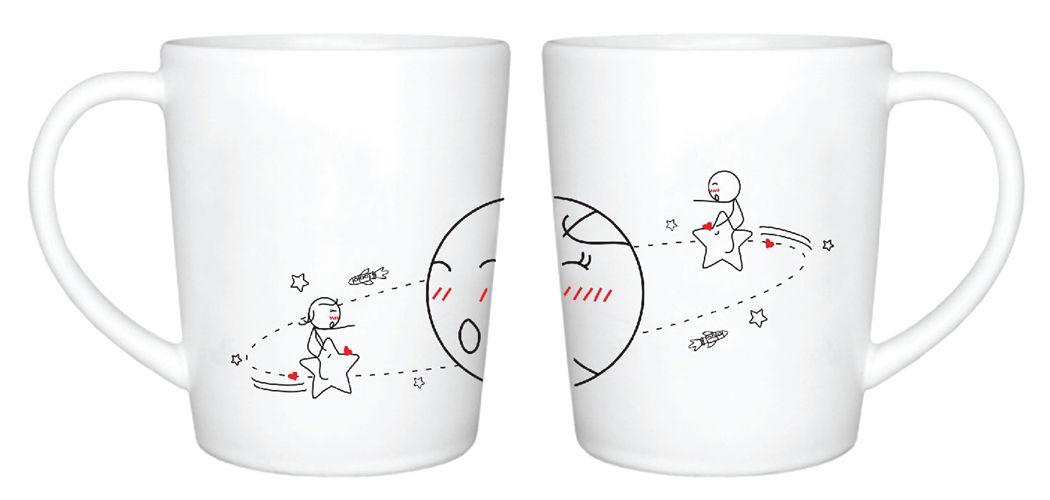 HUMAN TOUCH - SATELLITE 馬克杯