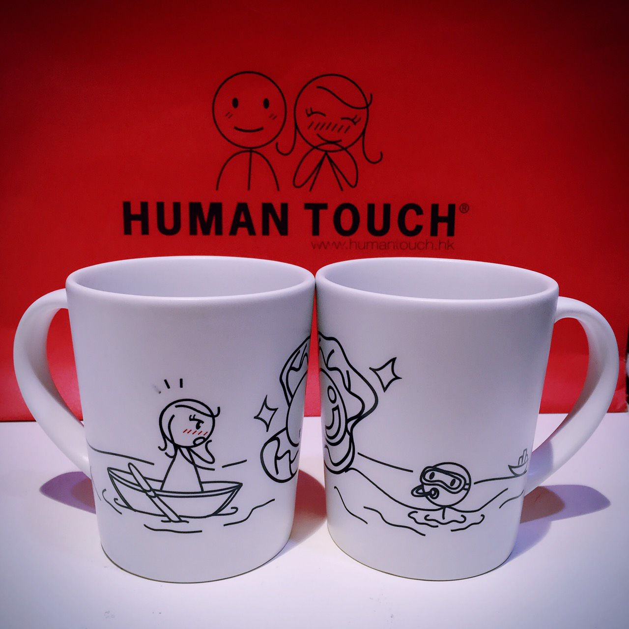 HUMAN TOUCH - YOU ARE MY PEARL 馬克杯
