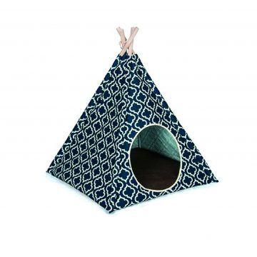 @金字塔帳篷-摩洛哥藍