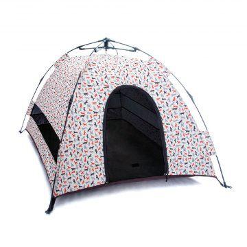 @露營野趣-寵物專用帳篷-香草白-(3)