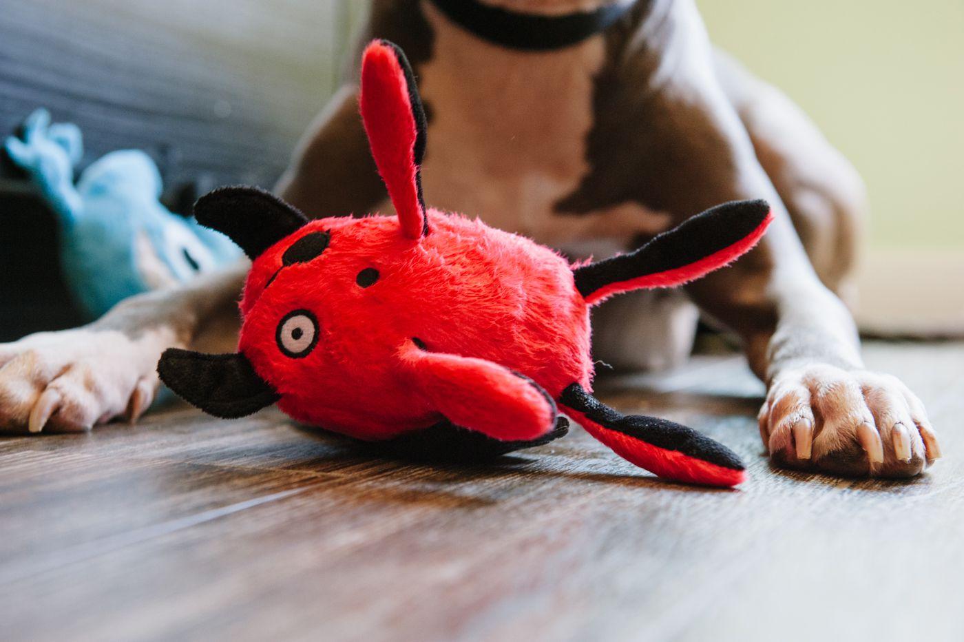 美國 P.L.A.Y. 玩具系列 外星怪獸 撒尿紅