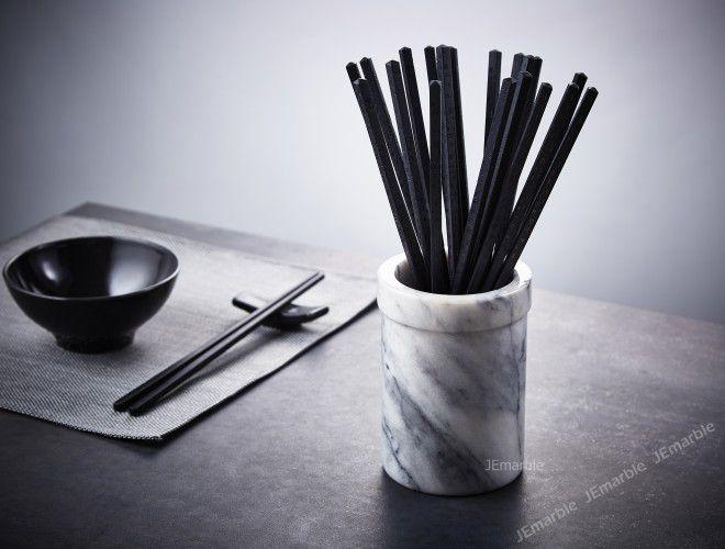 JEmarble 天然大理石筷桶
