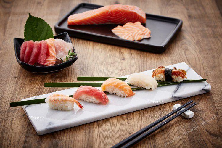JEmarble 天然大理石壽司盤 / 日式料理盤