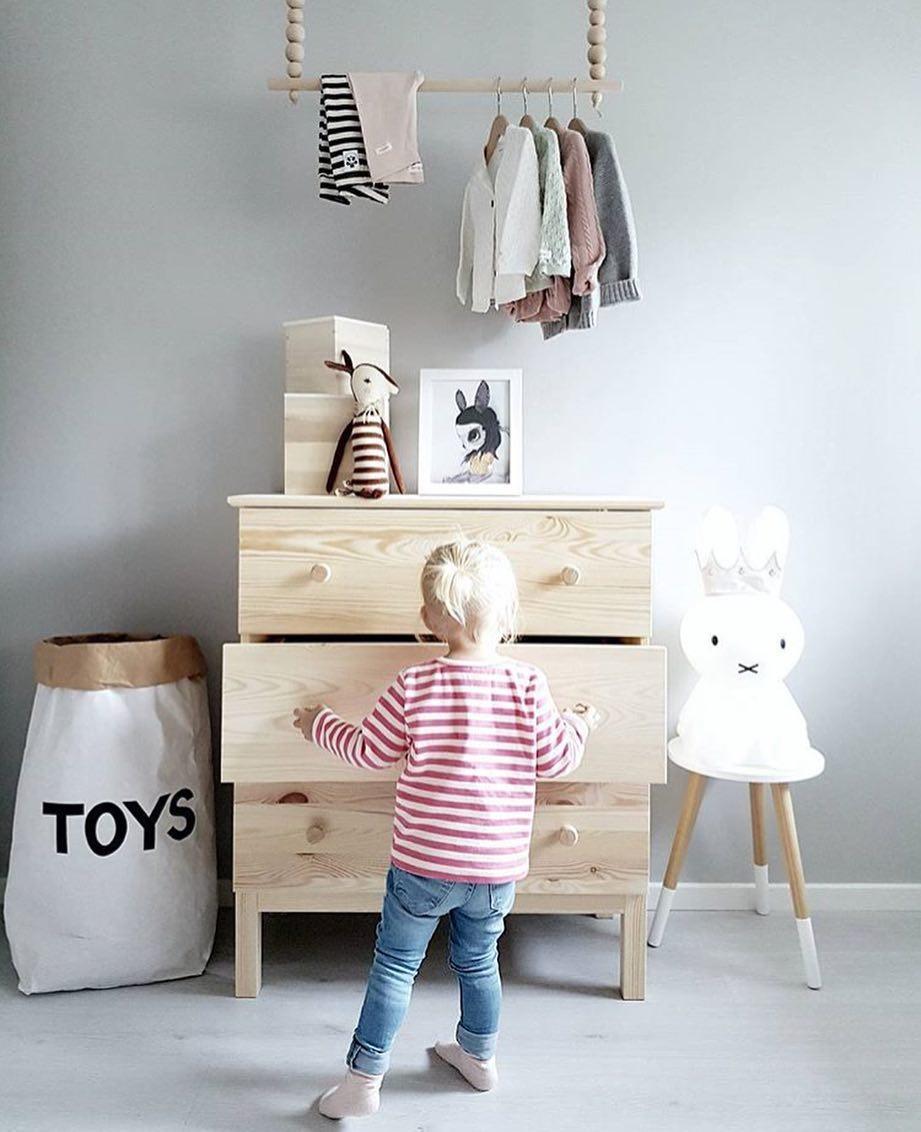 Tellkiddo 瑞典可愛圖案牛皮紙收納袋 Toys3