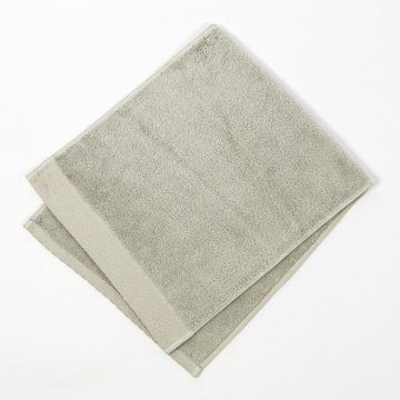 日本 今治毛巾 伊織 HANE 羽音 洗臉巾 (灰色)