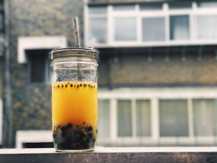 梅森罐 寬口吸管杯蓋組