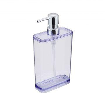 CBJ_晶透系列_方形按壓沐浴瓶550ml(尊貴紫)