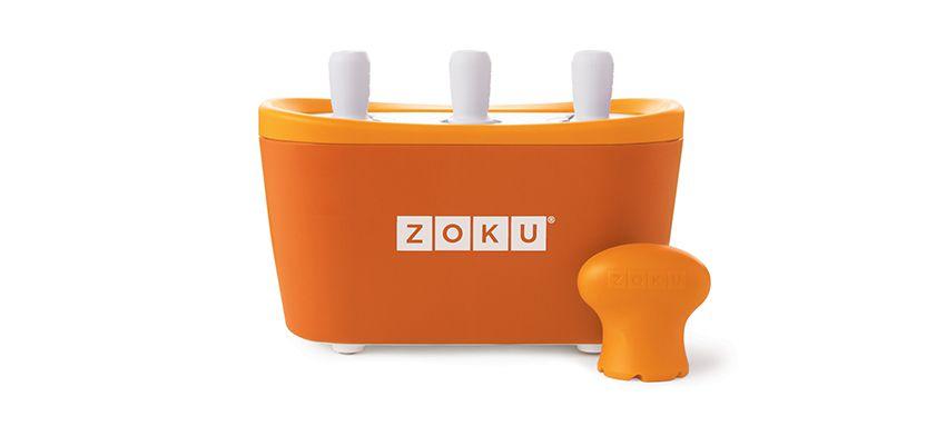 美國 ZOKU 快速製冰棒機 三支裝 (橘)