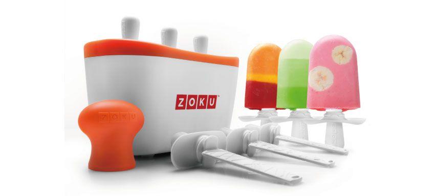 美國 ZOKU 快速製冰棒機 三支裝 (白)
