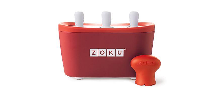 美國 ZOKU 快速製冰棒機 三支裝 (紅)