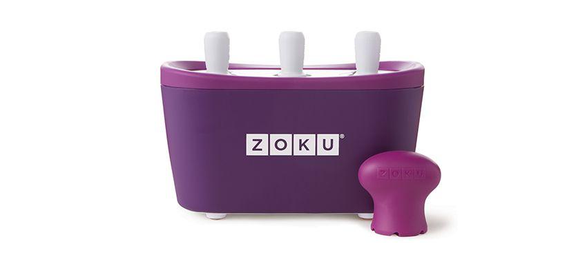 美國 ZOKU 快速製冰棒機 三支裝 (紫)