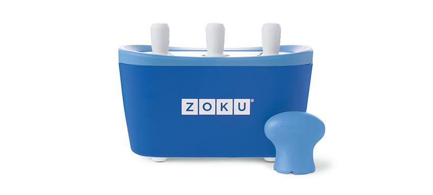 美國 ZOKU 快速製冰棒機 三支裝 (藍)