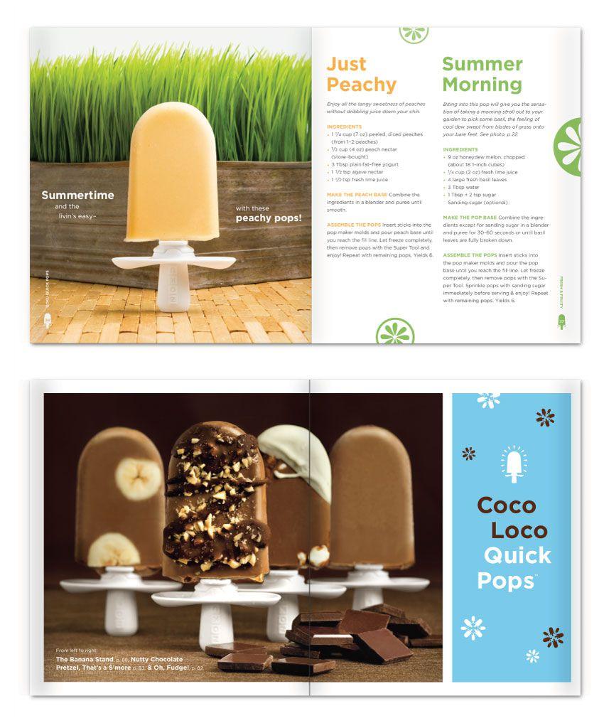美國 ZOKU 製冰棒食譜 (英文版)