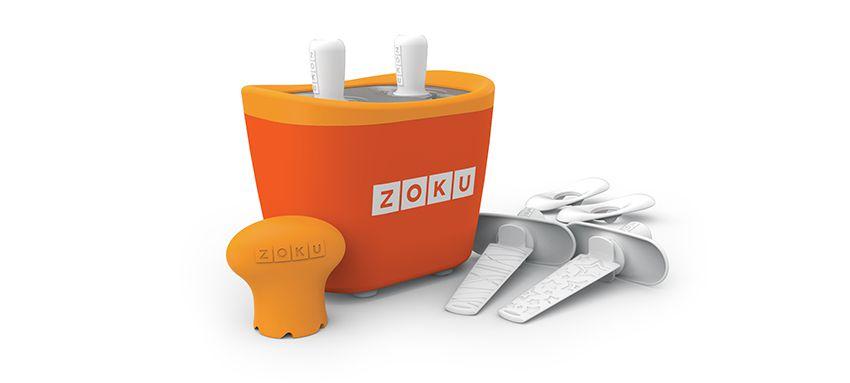 美國 ZOKU 快速製冰棒機 兩支裝 (橘)
