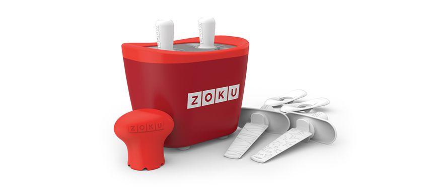 美國 ZOKU 快速製冰棒機 兩支裝 (紅)